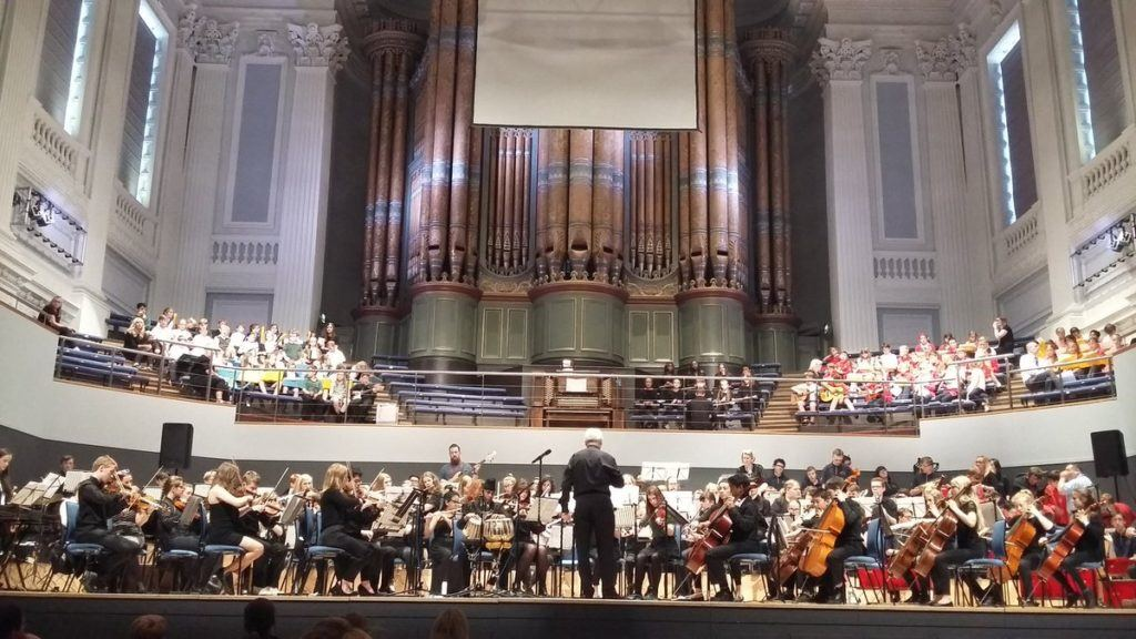 Young people from Doncaster play at Birmingham Symphony Hall in national event