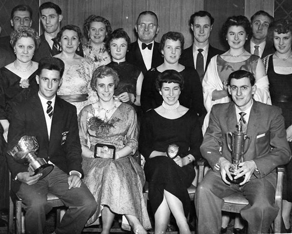 Doncaster Wheelers Club Social Event, c.1950. Photo courtesy Martin Maltby
