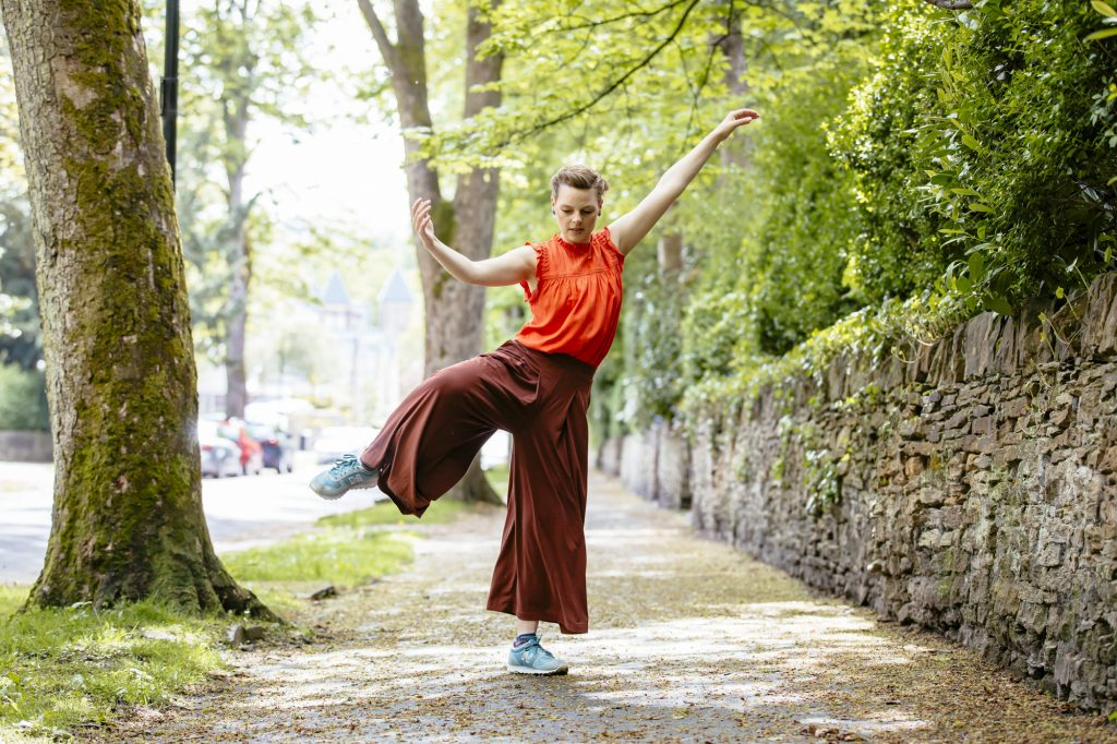 Dance On dancer, Lucy Haighton, photographed as part of our Meet the Artist series for darts in Doncaster