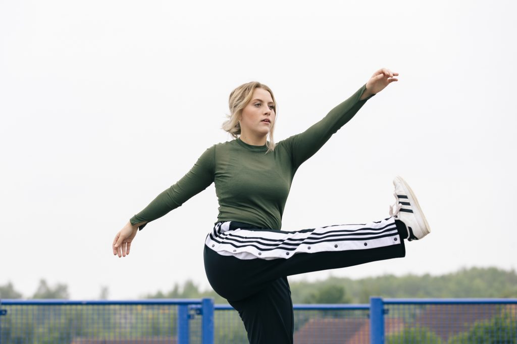 Dance On dancer, Danni Chell, photographed as part of our Meet the Artist series for darts in Doncaster